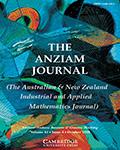 ANZIAM Journal