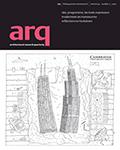 arq: Architectural Research Quarterly