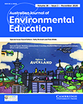 Australian Journal of Environmental Education