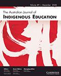 Australian Journal of Indigenous Education