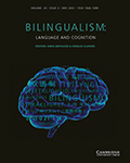 Bilingualism: Language and Cognition