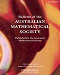 Bulletin of the Australian Mathematical Society