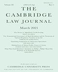 Cambridge Law Journal