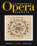 Cambridge Opera Journal