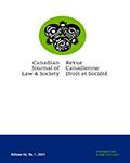 Canadian Journal of Law & Society / La Revue Canadienne Droit et Société