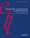 English Language & Linguistics
