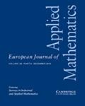 European Journal of Applied Mathematics