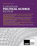 European Political Science Review
