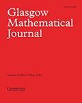 Glasgow Mathematical Journal
