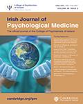 Irish Journal of Psychological Medicine