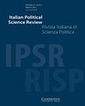 Italian Political Science Review / Rivista Italiana di Scienza Politica