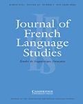 Journal of French Language Studies