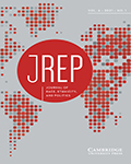 Journal of Race, Ethnicity and Politics