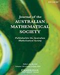 Journal of the Australian Mathematical Society