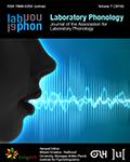 Laboratory Phonology