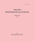 Nagoya Mathematical Journal