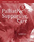 Palliative & Supportive Care