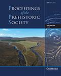 Proceedings of the Prehistoric Society