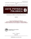 Acta Physica Polonica B (APPB)