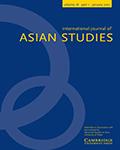 International Journal of Asian Studies