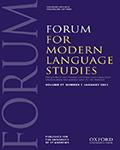 Forum For Modern Language Studies