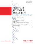 French Studies Bulletin