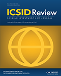 ICSID Review – Foreign Investment Law Journal