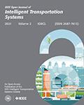 IEEE Open Journal of Intelligent Transportation Systems