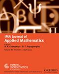 IMA Journal of Applied Mathematics