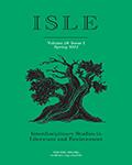 ISLE: Interdisciplinary Studies in Literature and Environment