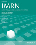 International Mathematics Research Notices