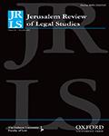 Jerusalem Review of Legal Studies