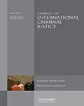 Journal Of International Criminal Justice
