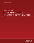 Journal of International Dispute Settlement