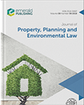 Journal of Property, Planning and Environmental Law prev. International Journal of Law in the Built Environment