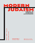Modern Judaism – A Journal of Jewish Ideas and Experience