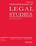 Oxford Journal Of Legal Studies
