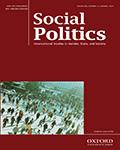 Social Politics: International Studies in Gender, State & Society