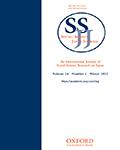 Social Science Japan Journal