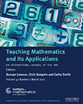 Teaching Mathematics and its Applications: An International Journal of the IMA