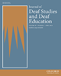 The Journal of Deaf Studies and Deaf Education