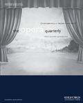 The Opera Quarterly
