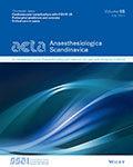 Acta Anaesthesiologica Scandinavica