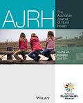 Australian Journal of Rural Health