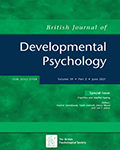 British Journal of Developmental Psychology