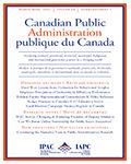 Canadian Public Administration/Administration Publique du Canada