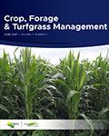 Crop, Forage & Turfgrass Management