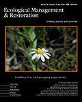 Ecological Management & Restoration