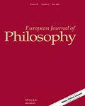 European Journal of Philosophy