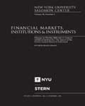 Financial Markets, Institutions & Instruments